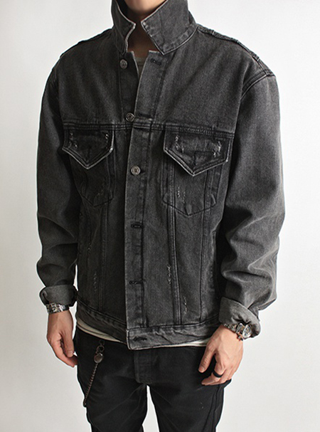 union jack denim jkt