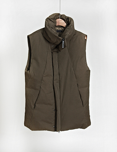 duck down padding vest