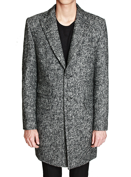 tweed single coat