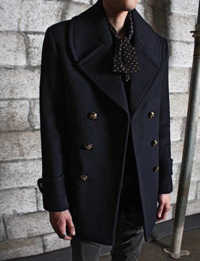 wool double coat