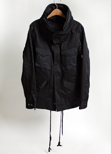 high necked military jkt
