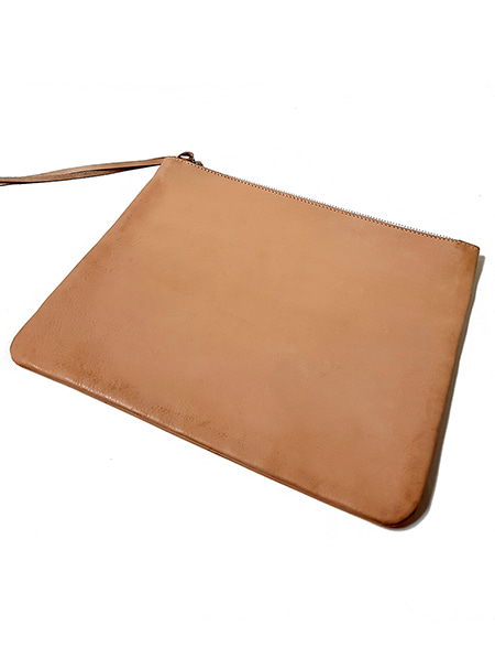 DAFT 906 . natural leather clutch bag 샘플 업데이트