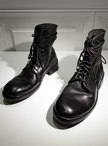 GOLEMETH 003 . Artisan boots 10hole black cordovan (goodyear welt) ORDER MADE-11/10 주문마감