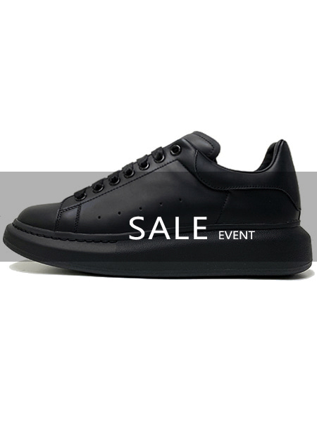 DAFT 924. Oversized Sole All Black- [ SALE EVENT ] (38 바로배송)