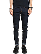raw denim skinny jean