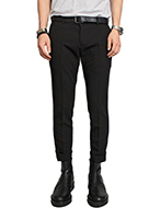 slim fit slacks