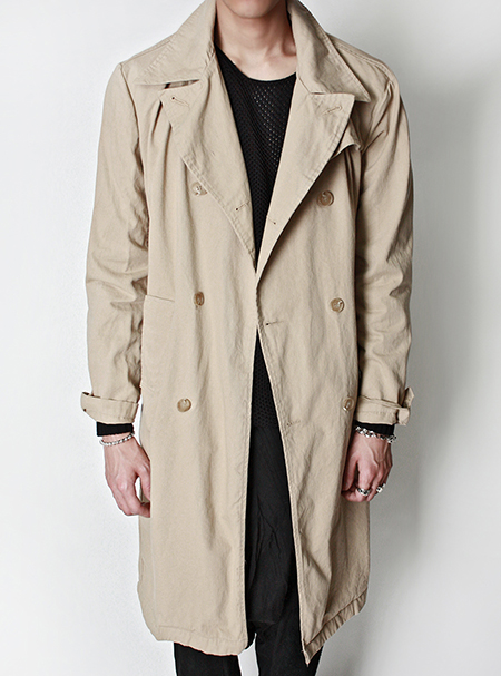 over size trench coat