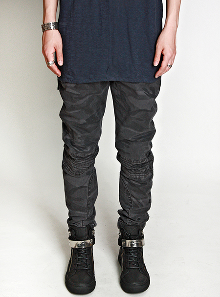 cotton camo pants