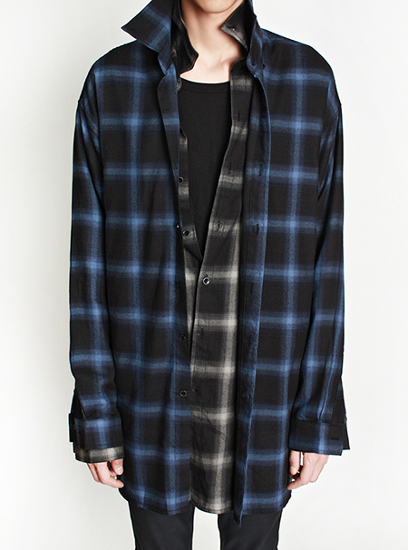 loose fit flannel shirts