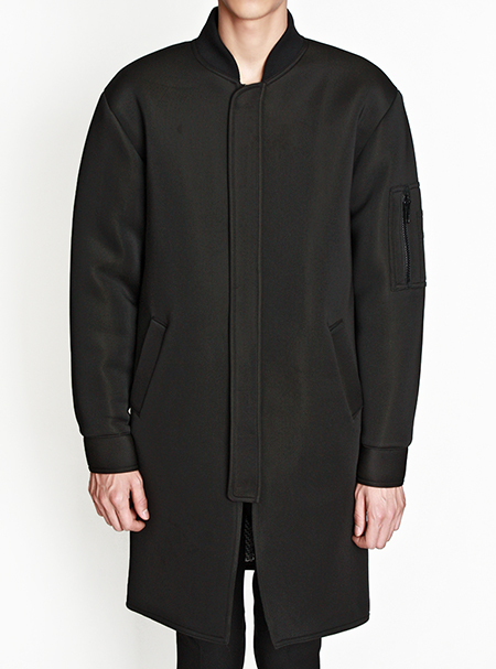 neoprene MA-1 long JKT