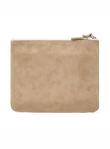 update soon_natural clutch bag