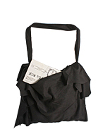 black grungy bag