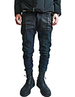 coated bending trousers