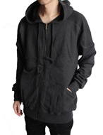 W*ng hooded Zip-up
